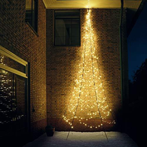 LED Lichterwand 400cm 240 LED warmweiß