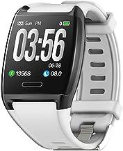YZY Fitness Tracker, Waterdichte Activiteitstracker Hartslagbloeddrukmeter, Smart Bracelet Watch Step Counter en Informati...