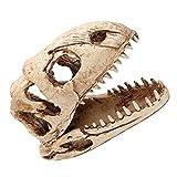 Simulación Dinosaurio Cráneo Acuario Paisajismo Ornamento Decoración Acuario Pecera Artificial Dinosaurio Cráneo Decoración Halloween