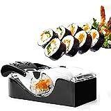 LXW Kit de fabricación de Sushi, Kit de preparación de Sushi para Principiantes, Kit de fabricación de Sushi de Bricolaje, máquina de Rollo de Sushi, Molde para Rollo de arroz Que Incluye un Cuchillo
