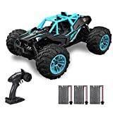 Goolsky Remote Control Car 2.4Ghz 40KM/H High Speed 1:16 Off Road RC Trucks Alloy Shell 4WD Vehicle Racing Climbing RC Car Gifts for Kids Adults