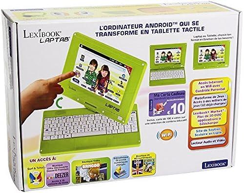 Lexibook mfc140fr Der Computer Tablet Touchscreen für Kinder mit Display 7 ll Drehbar (17,8 )