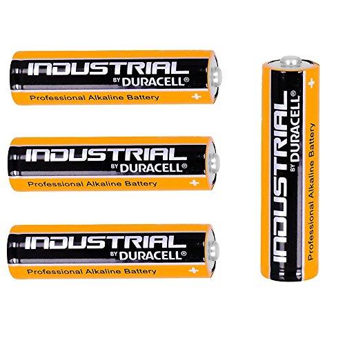 4x New Genuine Duracell Industrial AA-Batterien Alkaline 1,5V LR6MN1500ersetzt Procell AA Akku 4Stück