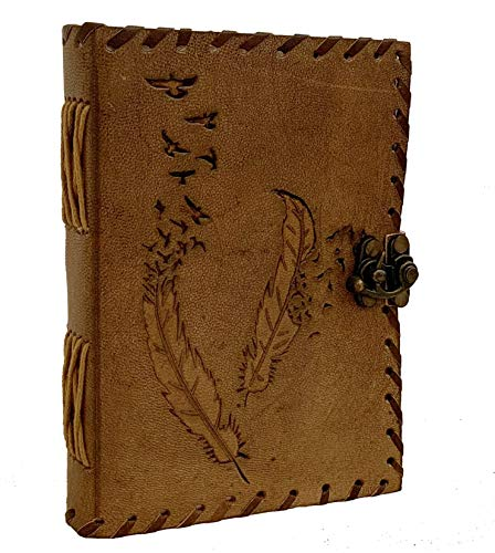 Leather Journal 5 x 7 Inch | Leather Notebook | Leather Sketchbook | Leather Blank Book | Leather Blank Journal | Leather Blank Notebook | Mens Leather Journal | Women Leather Journal