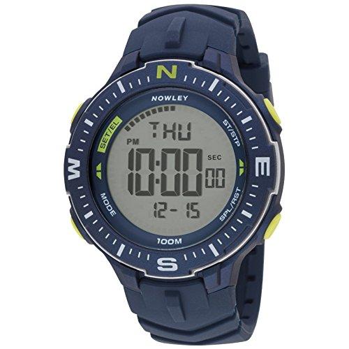 Nowley 8-6238-0-2, Reloj de Hombre, Digital, Azul Marino.