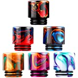 6 Pieces Resin 810 Drip Tip Replacement...