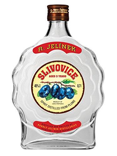 R.Jelinek, Original Czech destilleries, Slivovice 3YR Pflaumenedelbrand 0.7 l, 45%