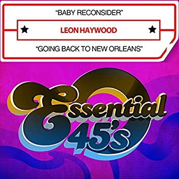 Baby Reconsider / Going Back to New Orleans (Digital 45)