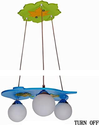Kronleuchter- Kinderzimmer Kreative Cartoon LED Augenschutz Schmiedeeisen Kronleuchter Schlafzimmer Jungen Und Mädchen Kronleuchter -Innen Kronleuchter