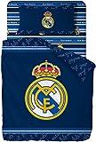 Funda Nórdica Individual Con Funda De Almohada Del Real Madrid