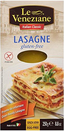 Le Veneziane Gluten Free Lasagne Sheets 250g - Pack of 2