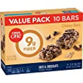 Fiber One Fiber 1 Oats and Chocolate Bar Value Pack 1.4 OZ 10 Count