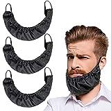Best Beard Bibs - 3 Pcs Beard Covers Bandana, Beard Bib Beard Review