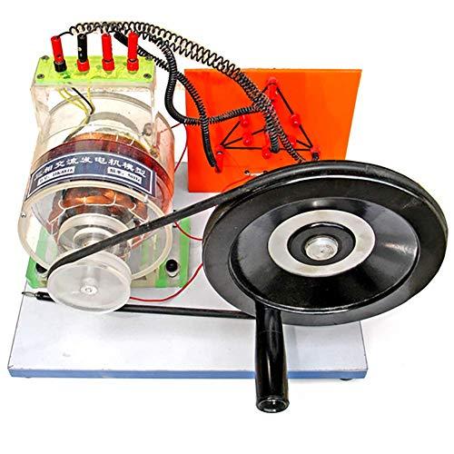 Tehoke Transparent Drehstromgenerator Modell- Für Demonstration des Schulunterrichts,Physikalisches Lehrinstrument Für Maschinenbau