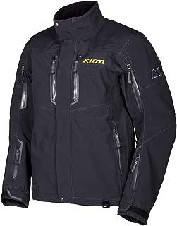 KLIM 2017 Valdez Parka Men's Ski Snowmobile Jacket - Black / 2X-Large