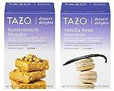Tazo Dessert Delights Tea 2 Box Bundle, Butterscotch Blondie and Vanilla Bean Macaron