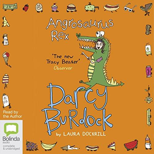 Angrosaurus Rex audiobook cover art