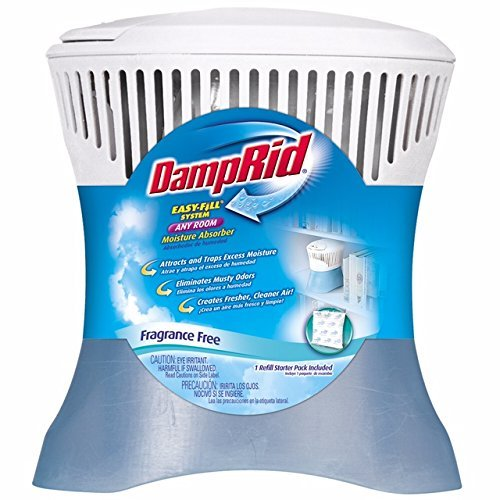 Purchase DampRid FG91 Easy-Fill System Any Room Moisture Absorber (Renewed)