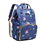 Motherly Winsome Wonder Stylish Babies Diaper Bags for Mothers (Pegasus,Starry Sky)