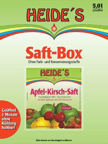 Apfel-Kirsch-Saft, 5 Liter