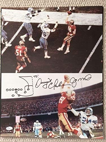 Dwight Clark San Francisco 49ers NFL Hand Signed 16x20 Photograph The Catch