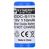 DogWatch DG-8000 Battery Replacement - Ultra High Capacity (Silver Oxide, 7.5V, 110 mAh) Battery