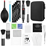 Zacro 14-in-1 Proonal Camera Cleaning Kit (with Carry Case), Including Blowing Bottle/Detergent/Lens Cleaning Pen/Cleaning Brush/Cleaning Swabs/Cleaning Cloth