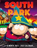 South Park A 16 Month Calendar 2021-2022: 2022 Monthly Planner PLUS 3 Months | Humorous Decoration For Home, Desk, Office