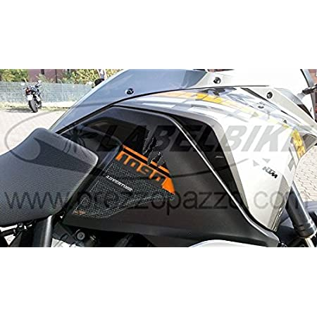 2 stickers 3d Lateral Protection Tank Compatible x moto ktm 1190 Adventure