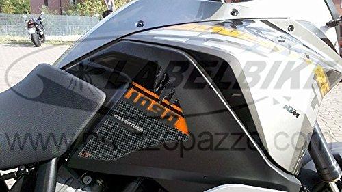 2 3D-Aufkleber Tank Side Protection kompatibel für Moto KTM 1090 Adventure