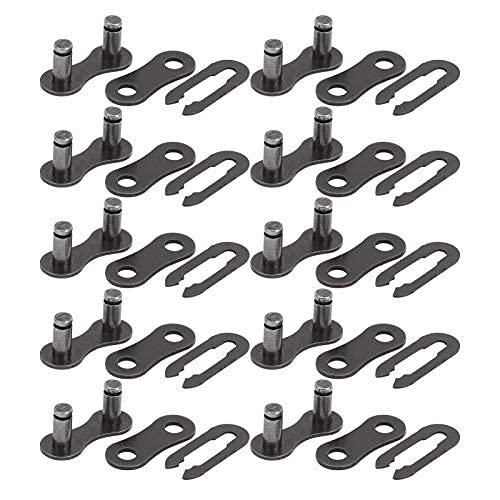 Estable, ATV Cadena Master Link Link Durabilidad Cadena de trabajo pesado Conector Enlace Enlace Master Enlace para la bicicleta