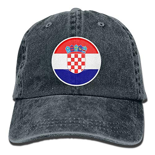 DD Decorative Men and Women Cap Flag of Croatia Unisex Hip Hop Cap Baseball Hat Head-Wear Cotton Trucker Hats Navy
