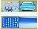 FACAI888 Baignoire gonflable double / baignoire épais / baignoire pliante / piscine pour enfants - baignoire - baignoire gonflable
