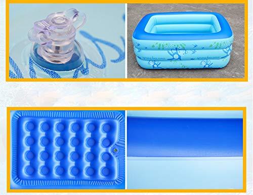 FACAI888 Baignoire gonflable double/baignoire épais/baignoire pliante/piscine pour enfants - baignoire - baignoire gonflable