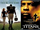 True Story The Blind Side DVD Football Movie + Disney Remember the Titans Double Feature Sports Set