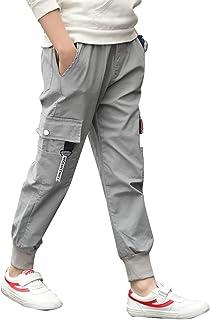Ragazzo Ragazzi Cotone Sportivi Harem Jogger Primavera Autunno Inverno LAPLBEKE Bambino Cargo Pantalone Felpa Bambini Elastico Vita Pantaloni Tuta Fondi