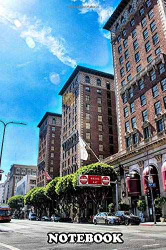 Notebook: Los Angeles Downtown , Journal for Writing, College Ruled Size 6