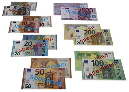 WISSNER aktiv lernen-140 EURO Rechengeld Scheine Tarjetas de cálculo (140 euros), multicolor (080620.140) , color/modelo surtido