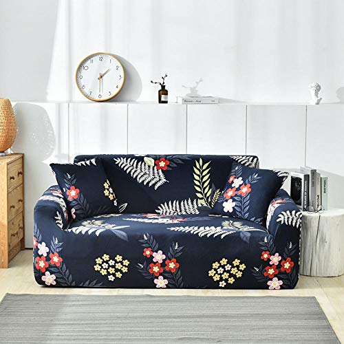 JRKJ Hussen Für Sofa,Raum Couchbezug Stretch Schonbezug Sectional Elastic Stretch Sofabezug Einzel- / Zwei/DREI/Vier Sitz L-Form Sesselbezüge-13_1_Seater (90-_140Cm)