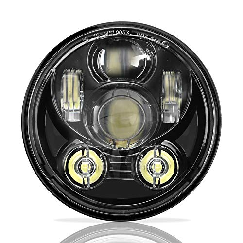 SUNPIE Motorcycle 5-3/4 5.75 LED Headlight for Harley 883,sportster,triple,low rider,wide glide Headlamp Projector Driving Light