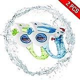 Yojoloin 2 Pack Water Blaster Super Pistola de Agua Soaker Squirt 200CC Capacidad de Humedad Fiesta y Actividad al Aire Libre Water Blaster para niños, Water War (Random 2PCS)
