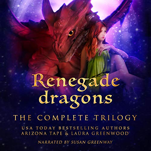 Renegade Dragons Audio Susan Greenway Arizona Tape Laura Greenwood reverse harem paranormal romance