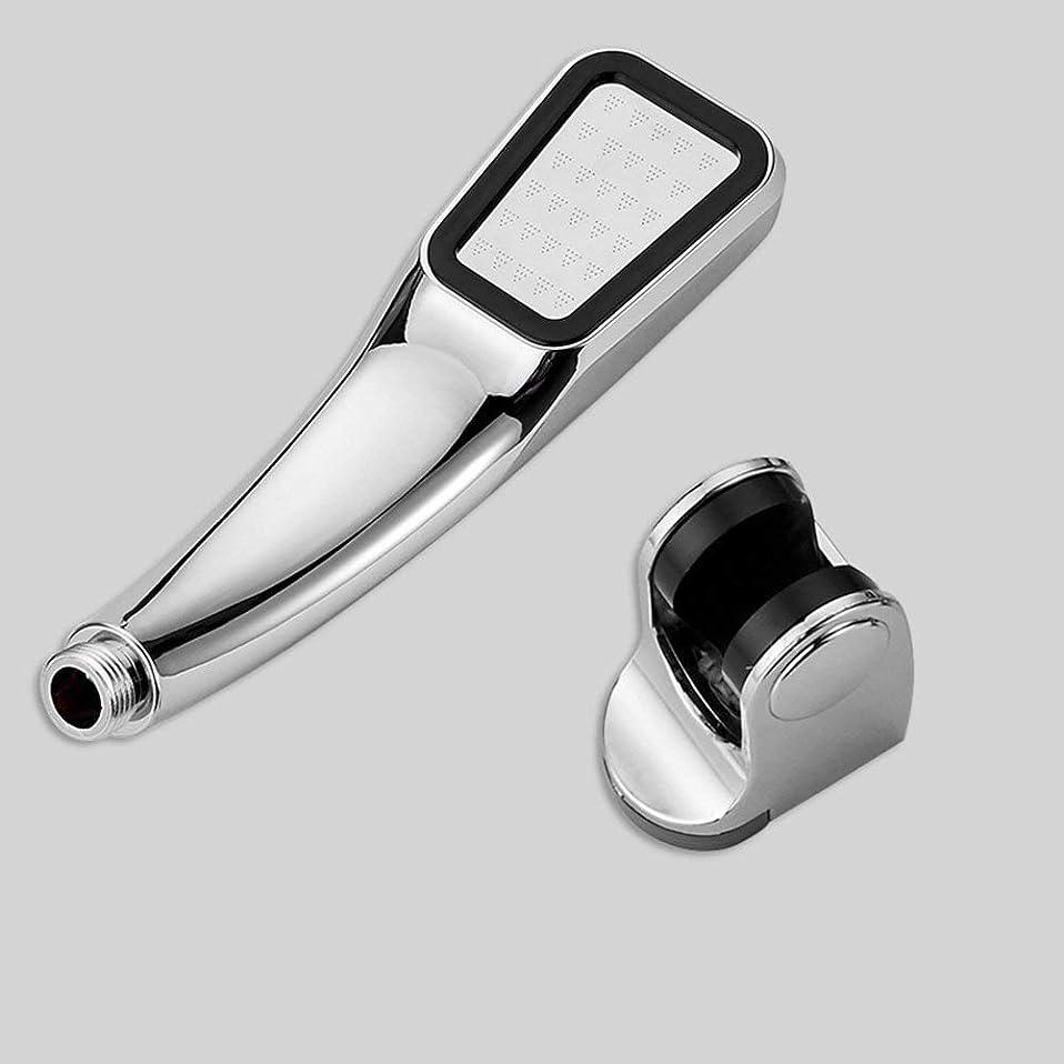 ベリーを除く物理的に実用的なハンドシャワー 300穴加圧シャワーヘッド節水手持ち浴室シングルヘッドシャワーヘッドメッキ (Color : 2)