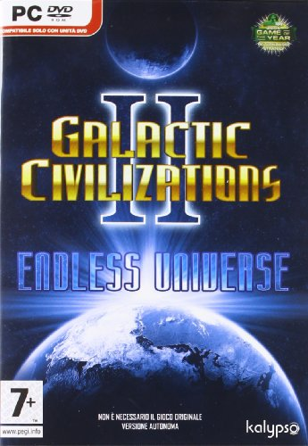 Galactic Civilizations II - Endless [Importación italiana]