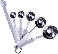 MB-LANHUA Cucchiaio dosatore Doppio Cucchiaio in Acciaio Inossidabile Cucchiaio 15 ml e 30 ml