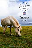 Kalender Island 2020: Wochenkalender 2020 • Island  Planer • Island Geschenk • Wochenplaner 2020 • Kalenderbuch • Terminplaner 2020