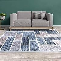 Artiss Short Pile Floor Rug 200x290 Area Rugs Large Modern Carpet Soft Floor Mat Suitable for Living Room Dining Room...