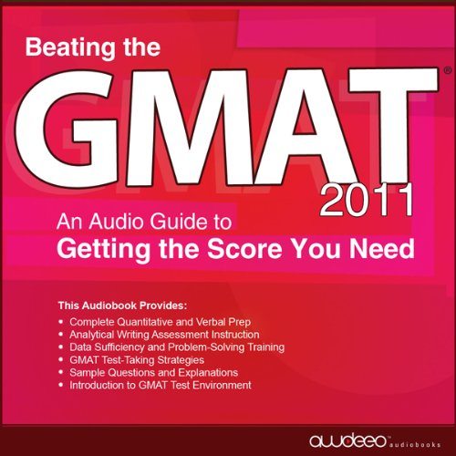 Beating the GMAT 2011 audiobook cover art