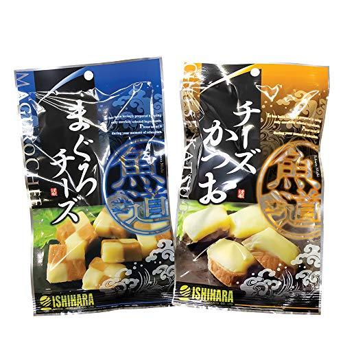 石原水産 まぐろチーズ チーズかつお 小 各1袋セット おつまみ おやつ お試し