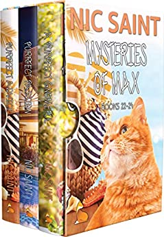 The Mysteries of Max: Books 22-24 (The Mysteries of Max Box Sets Book 8) by [Nic Saint]